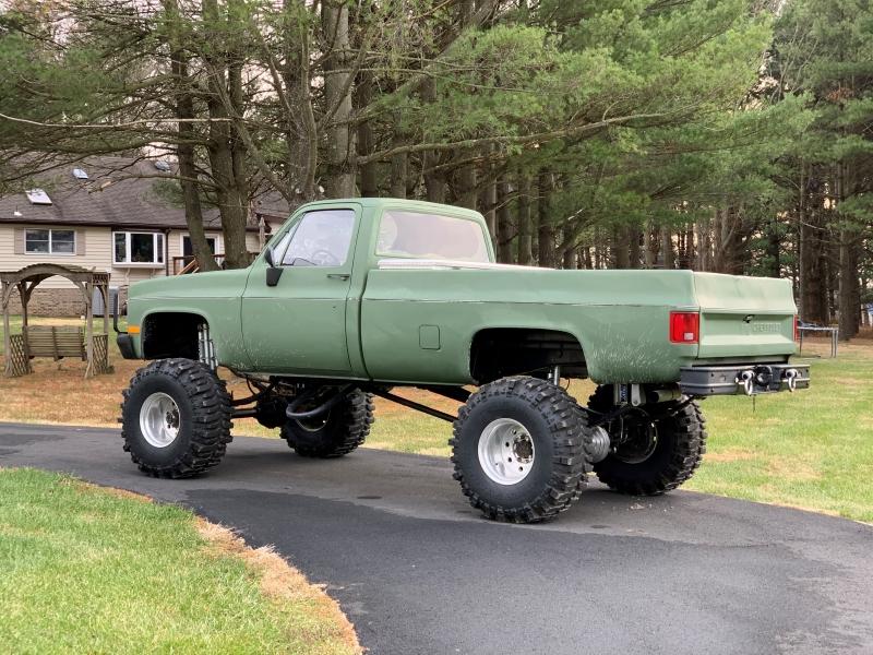 Chevrolet MILITARY TRUCK 1986 price $13,900