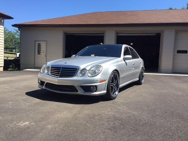 2003 mercedes benz e class 4dr sdn 5 5l amg inventory. Black Bedroom Furniture Sets. Home Design Ideas
