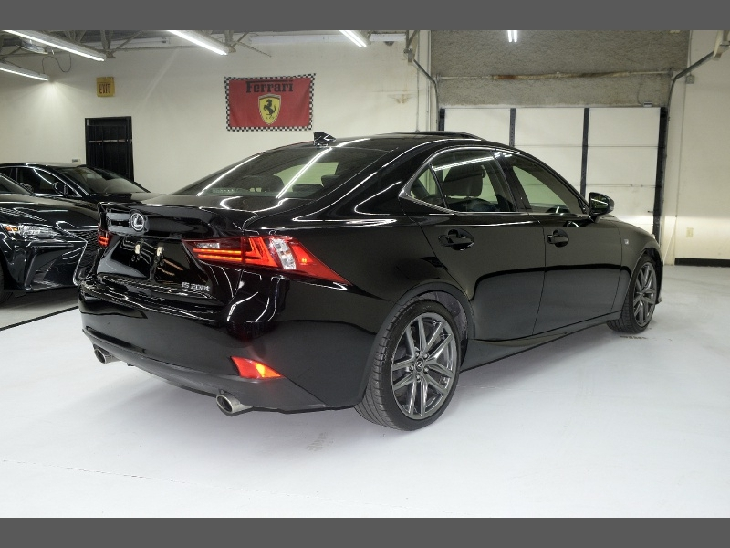 Lexus IS 200t F Sport 2016 price $22,995