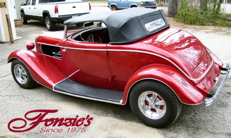Ford Roadster 1933 price $36,500