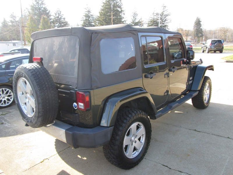 Jeep Wrangler Unlimited 2011 price $17,595