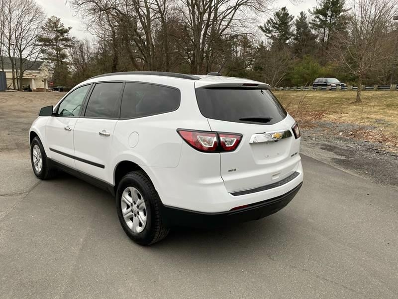 Chevrolet Traverse 2017 price $15,524