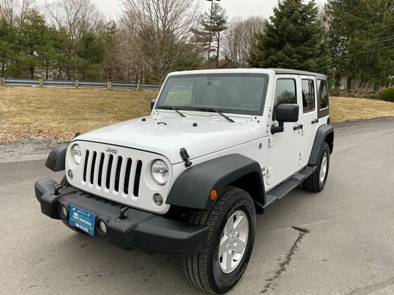 Jeep Wrangler Unlimited 2017 price $24,985