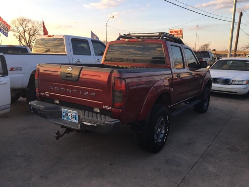 Nissan FRONTIER 2004 price $6,477