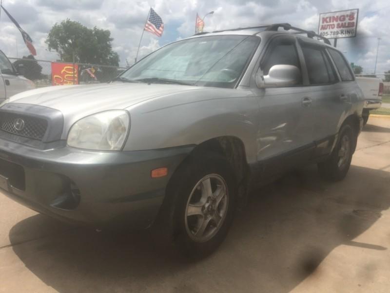 Hyundai Santa Fe 2003 price $1,800