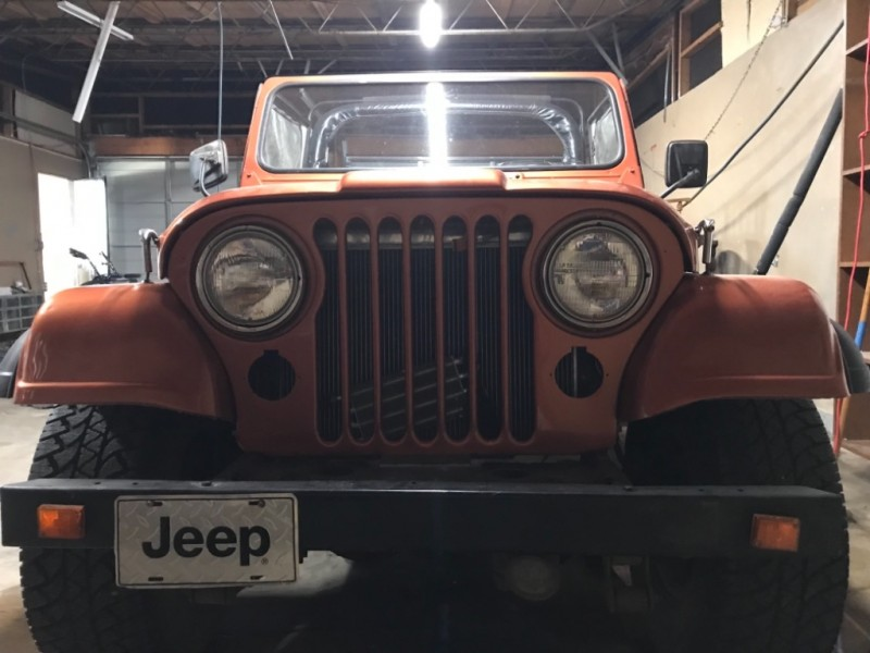 Jeep CJ 4WD 1981 price $7,777