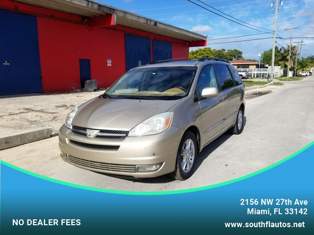 Toyota Of South Florida >> 2004 Toyota Sienna Xle Limited Minivan 4d