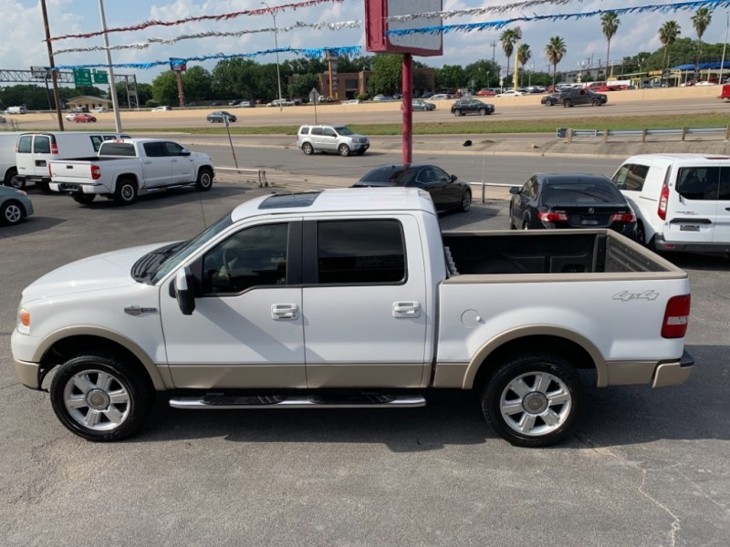2008 Ford F 150 4wd Supercrew King Ranch Lifted White