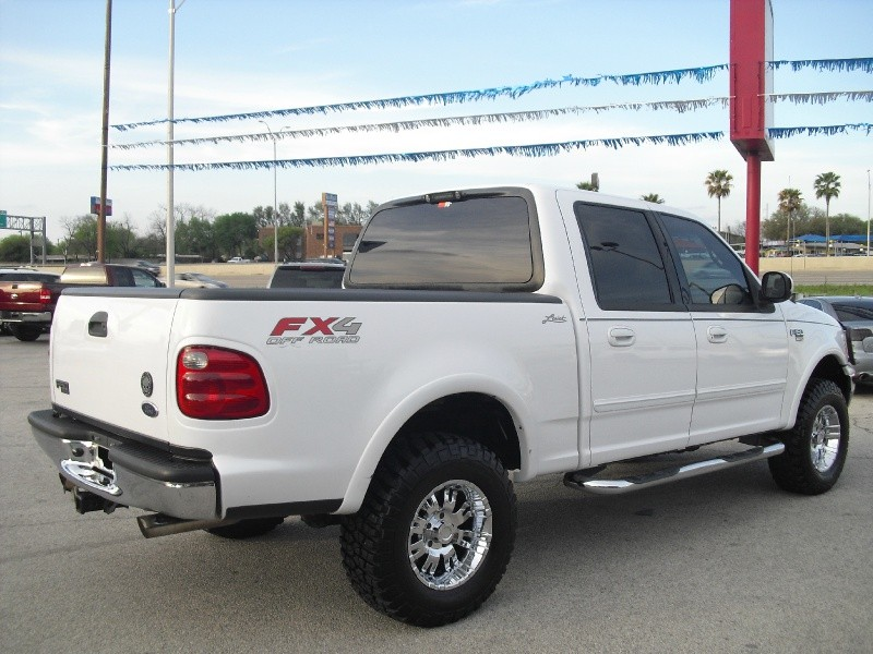 2002 Ford F-150 SuperCrew Lariat 4WD -FX4-Lifted On 33s ...