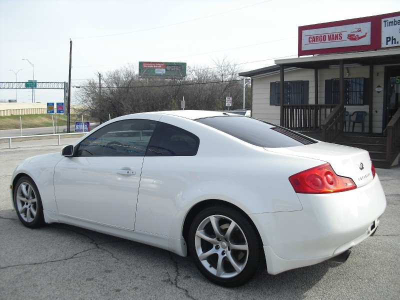 2006 Infiniti G35 Coupe 2dr Cpe Automatic Pearl White