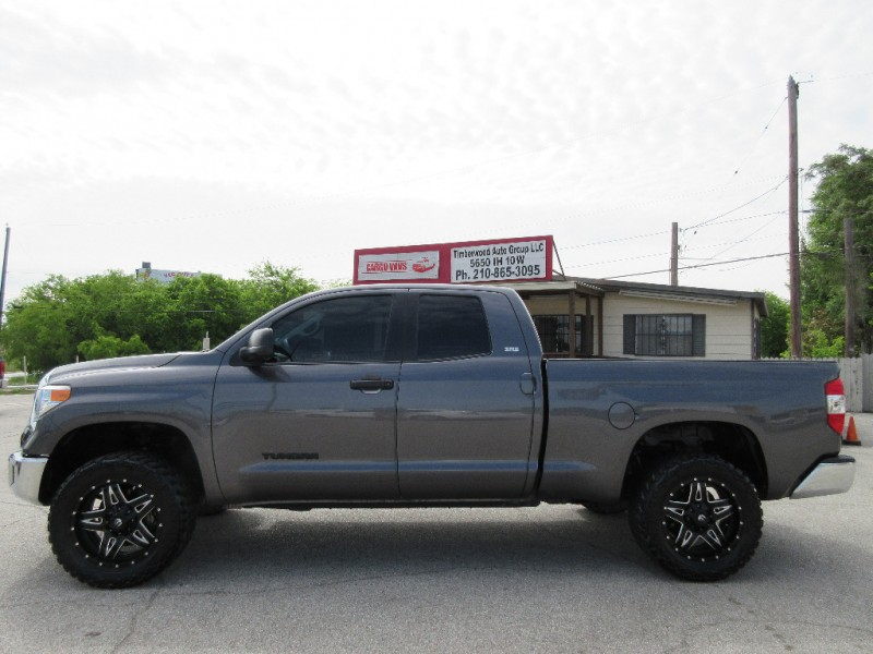 2014 Toyota Tundra Double Cab Lifted On 33s W Fuel Wheels