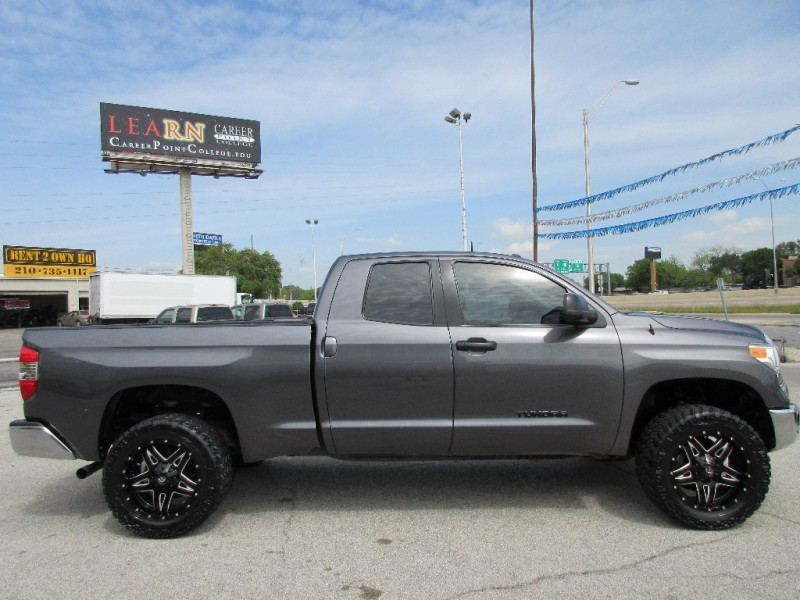 Toyota Dealership San Antonio >> 2014 Toyota Tundra Double Cab -LIFTED On 33s w/FUEL WHEELS!-Factory Warranty - Inventory ...