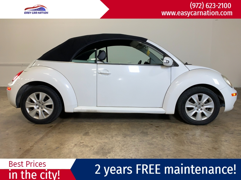 Volkswagen New Beetle Convertible 2009 price $5,991