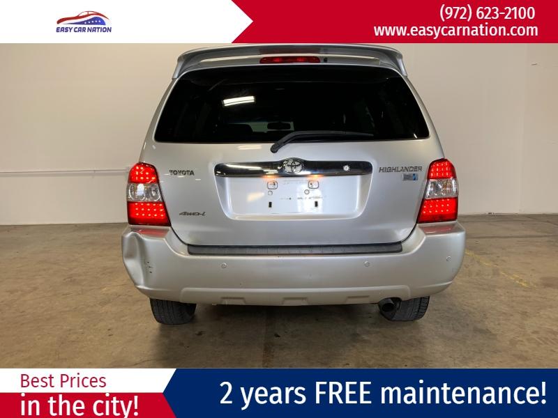 Toyota Highlander Hybrid 2007 price $4,491