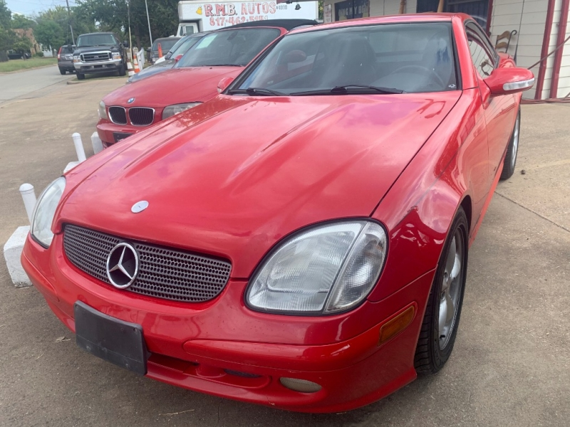 Mercedes-Benz SLK-Class 2001 price $4,499