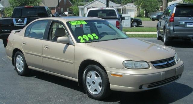 2001 Chevrolet MALIBU 4DR SEDAN/LEATHER