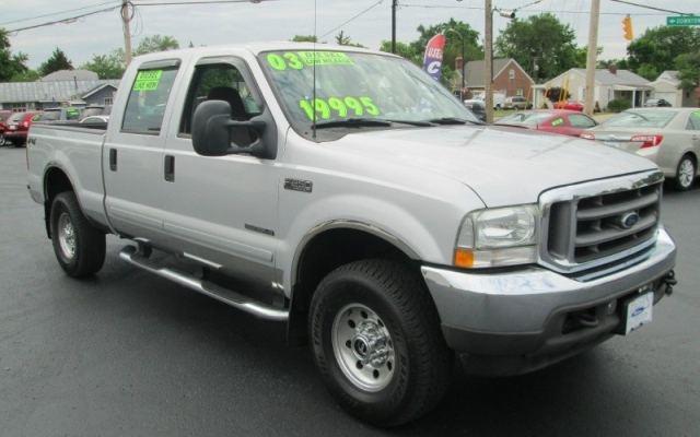 2003 Ford SUPER DUTY 7.3 LITER DIESEL