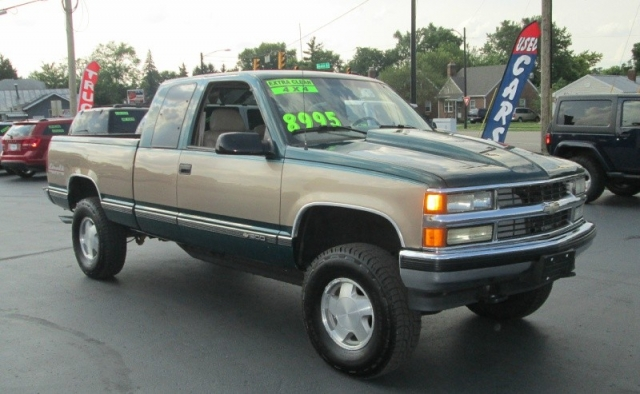 1996 Chevrolet K-1500 SILVERADO 4X4 EXT CAB