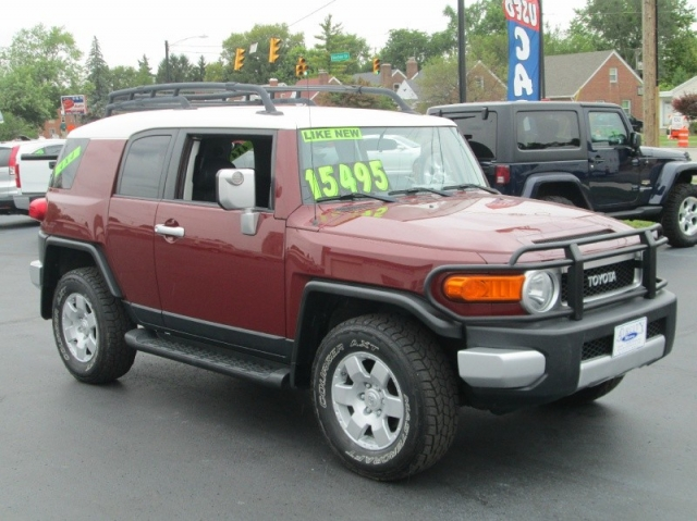 2008 toyota fj cruiser suv 4x4 manual transmission factory gauge rh aircitymotors com fj cruiser repair manual 2007 fj cruiser factory service manual