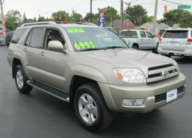 2003 Toyota 4-RUNNER LIMITED V-8
