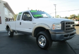 Ford SUPER DUTY F-250 DIESEL 4X4 SUPERCAB FX4 PICK-UP 2005