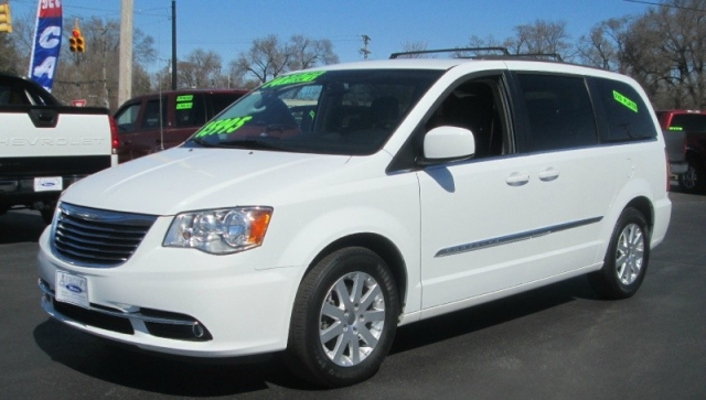 2014 Chrysler TOWN & COUNTRY TOURING EDITION/DVD