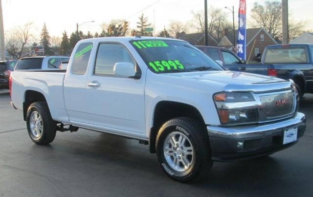 2011 GMC CANYON SLT EXT CAB 4X4