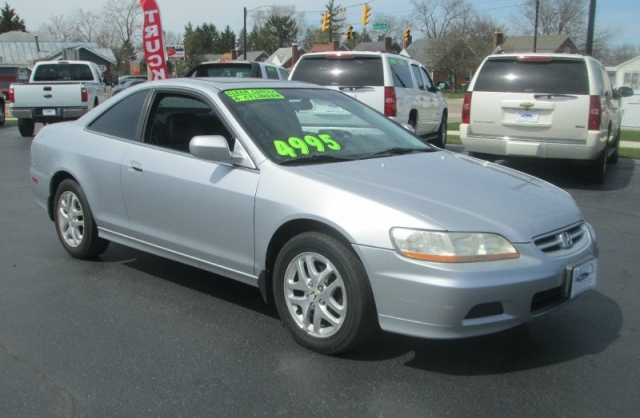 2001 Honda ACCORD 2DR COUPE EX / V-6