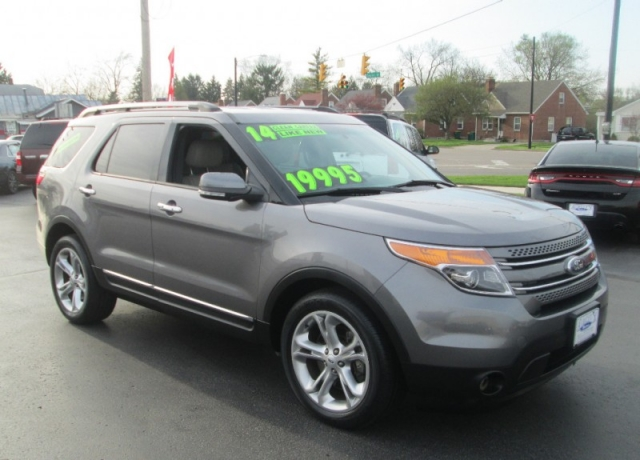 2014 Ford EXPLORER LIMITED/3RD ROW