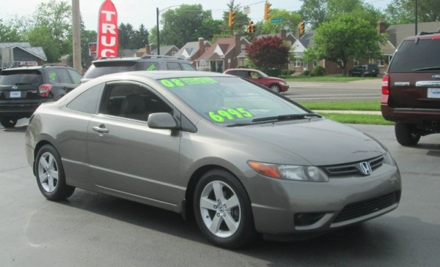 2008 Honda CIVIC COUPE EX-L / LEATHER