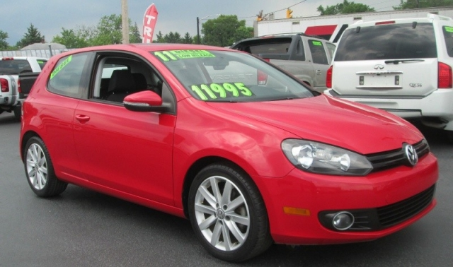 2011 Volkswagen GOLF TDI 2DR HB- 6 SPEEDMANUAL