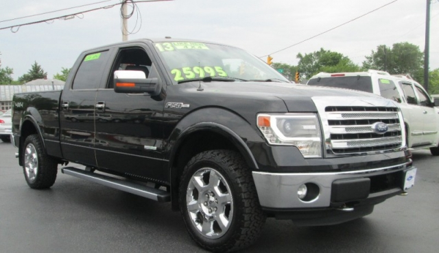 2013 Ford F-150 4DR SUPERCREW LARIAT 4X4