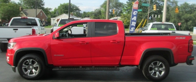 2016 Chevrolet COLORADO CREW CAB Z-71 4X4