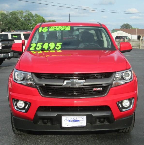 2015 Chevrolet Colorado Extended Cab Transmission: 2016 CHEVROLET COLORADO 4DR CREW CAB Z-71 4X4 PICK-UP