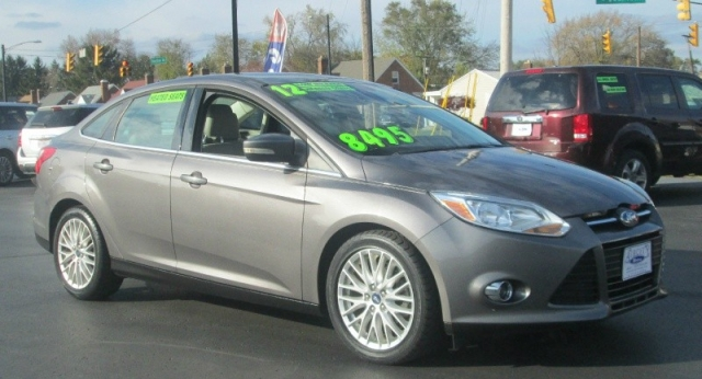 2012 Ford FOCUS 4DR SEDAN SEL