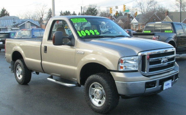 2006 Ford SUPER DUTY F-250 XLT 4X4 LONGBED