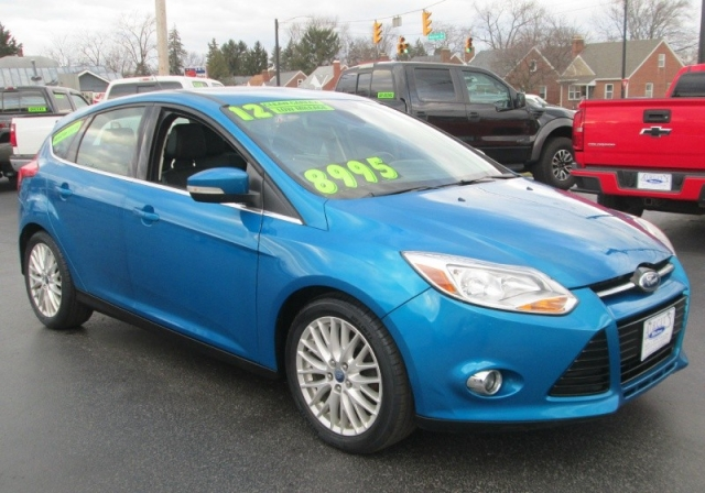 2012 Ford FOCUS SEL/WITH NAVI