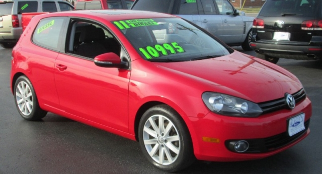 2011 Volkswagen GOLF TDI/5 SPEED MANUAL