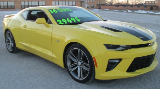 2016 Chevrolet CAMARO SS 2DR COUPE