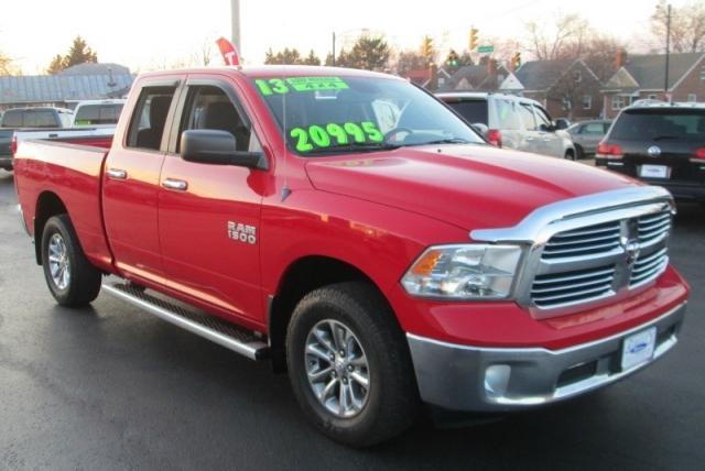 2013 RAM 1500 QUAD CAB BIG HORN EDITION 4X4