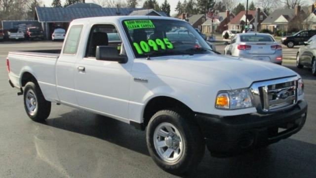 2011 Ford RANGER SUPERCAB PICK-UP