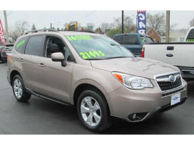 2016 Subaru FORESTER LIMITED PZEV AWD