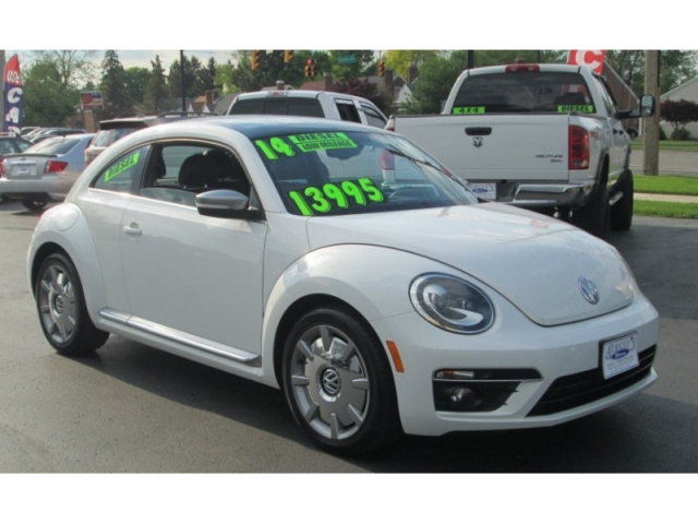 2014 Volkswagen BEETLE COUPE TDI HIGHLINE