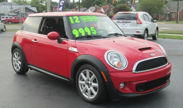 2012 Mini COOPER S MANUAL w/DBL MOONROOF