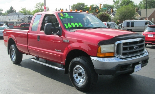 2001 Ford SUPER DUTY 7.3 LITER DIESEL F-250 SUPERCAB XLT