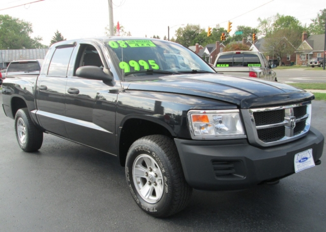2008 Dodge DAKOTA CREW CAB SXT 4X4