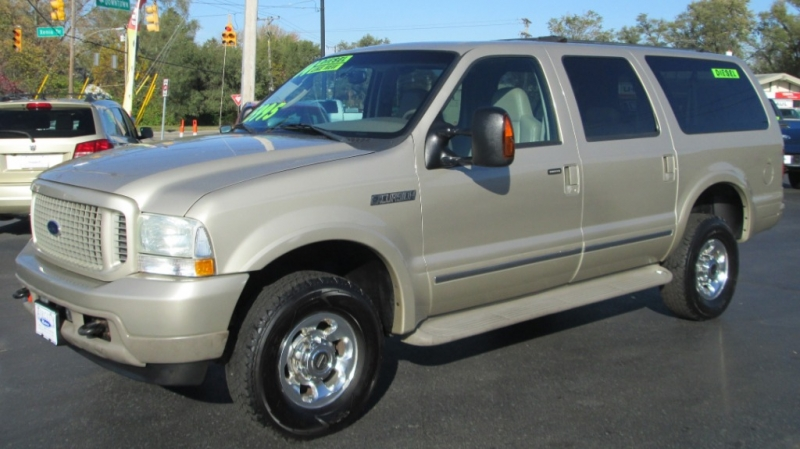 Ford EXCURSION LIMITED DIESEL 4X4 2004 price $15,995