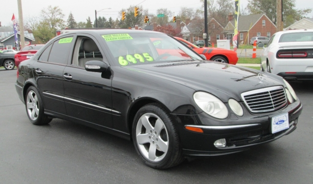 2004 Mercedes-Benz E 500 4DR SEDAN 5.0L