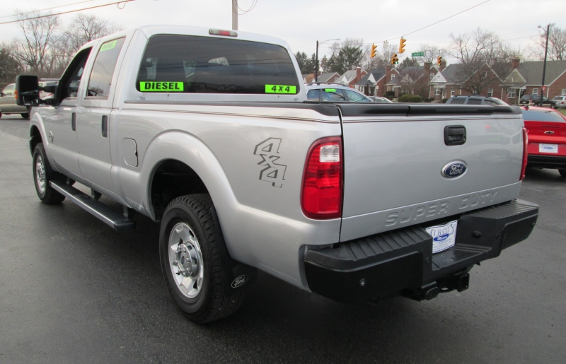Ford SUPER DUTY F-250 DIESEL 4X4 CREW CAB 2011 price $21,995