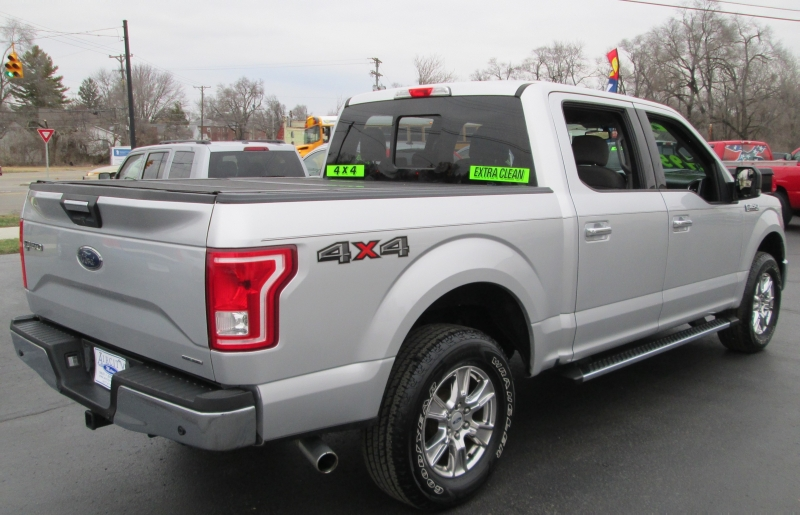 Ford F-150 4X4 SUPER CREW XLT 2015 price $21,995